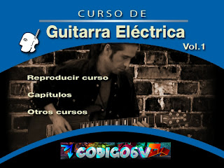 Curso de Guitarra Electrica (Virtuosso) Vol. 1 [DVD] [+ Audio Cd del Curso] [FS]