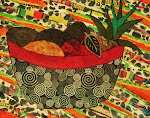 "PATRICIA ANN WILSON ""Rasta Color Fruit Bown"""