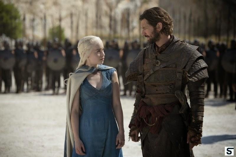 """Daenerys y Daario Naharys en """"Juego de Tronos 4x03 - Rompedora de cadenas"""""""
