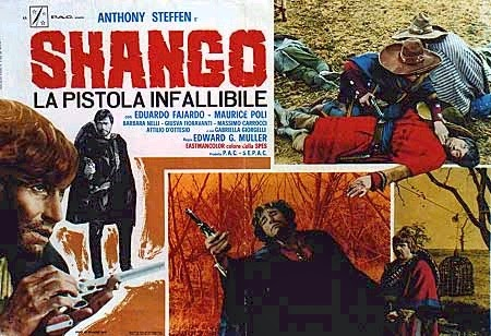 Vintage Shango Film Poster
