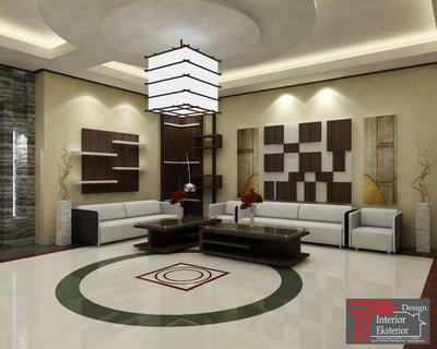 60 desain lampu hias ruang tamu minimalis