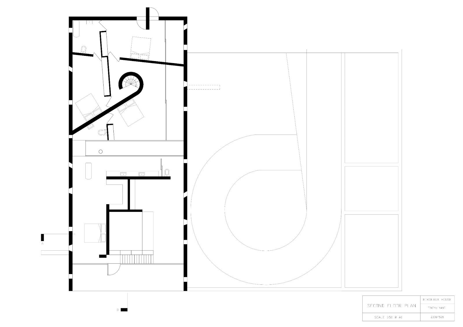arch1201 design studio three carol bordeaux house drawings. Black Bedroom Furniture Sets. Home Design Ideas