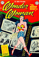 Wonder Woman #45 comic cover. Click to buy this golden age comic book!