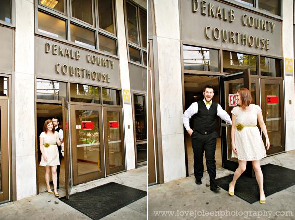 Okaloosa county courthouse wedding