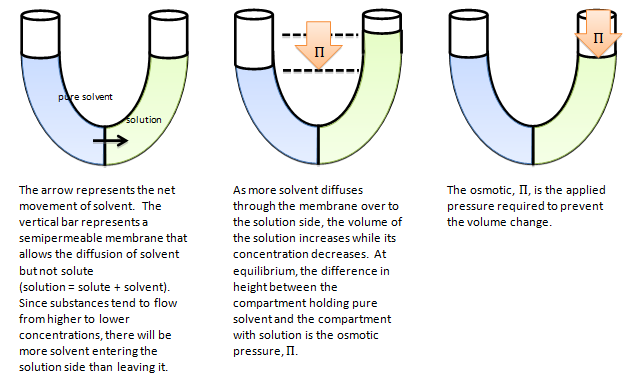 how to solve for osmotic pressure