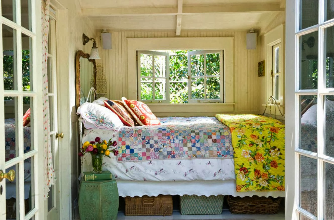 No cozy no cottage Lake house decorating ideas bedroom