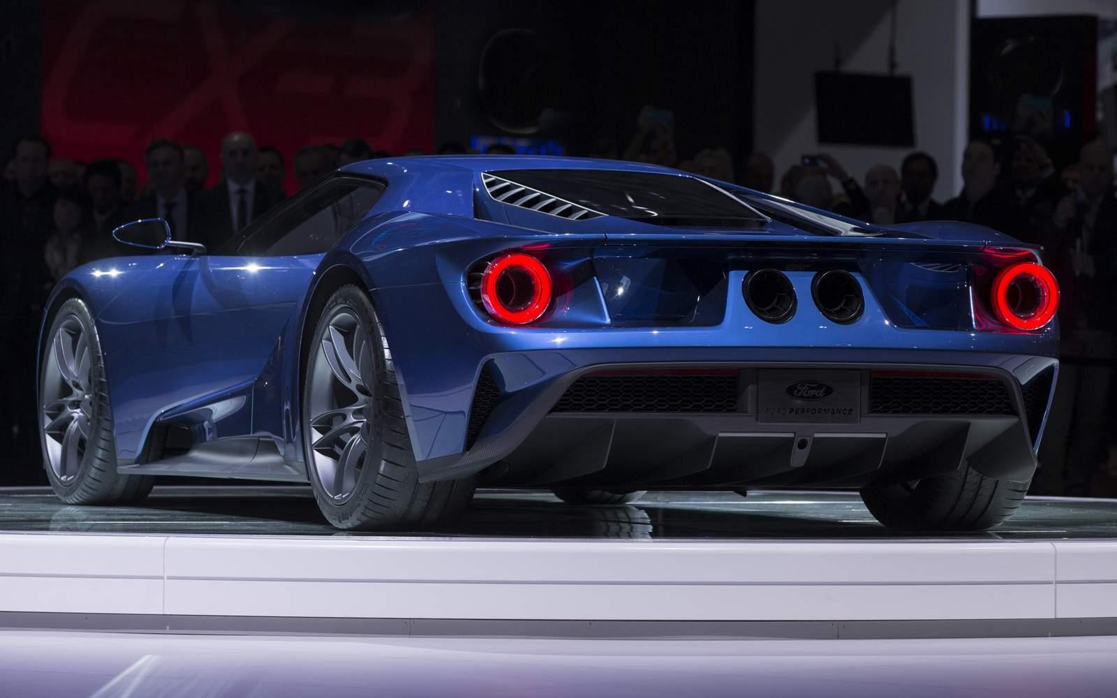Ford Gt Chega Em 2016 Pre 231 O De Lamborghini Aventador Car Blog Br