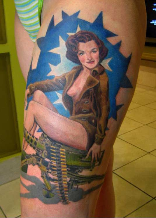 Pin Up Tattoos Sailor Images