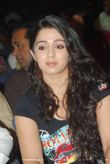 Charmi Actress In Tight Tshirt  pictures