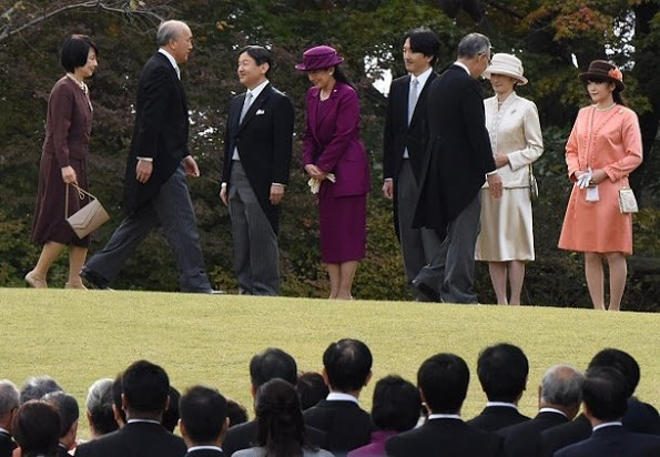 The Imperial Family At The Annual Autumn Garden Party