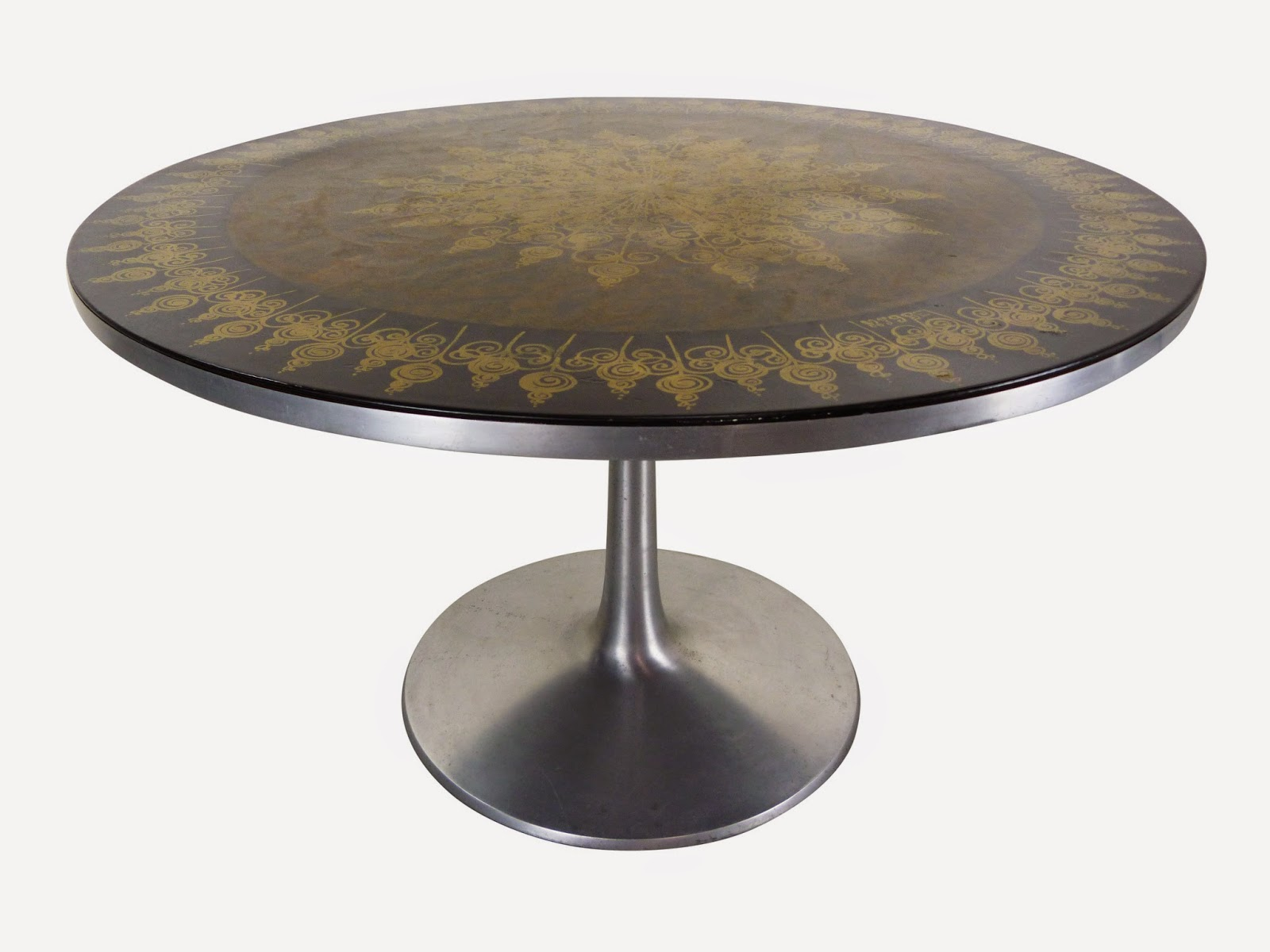 Cado Mygee Danish Modern Painted Dining Table Img 2