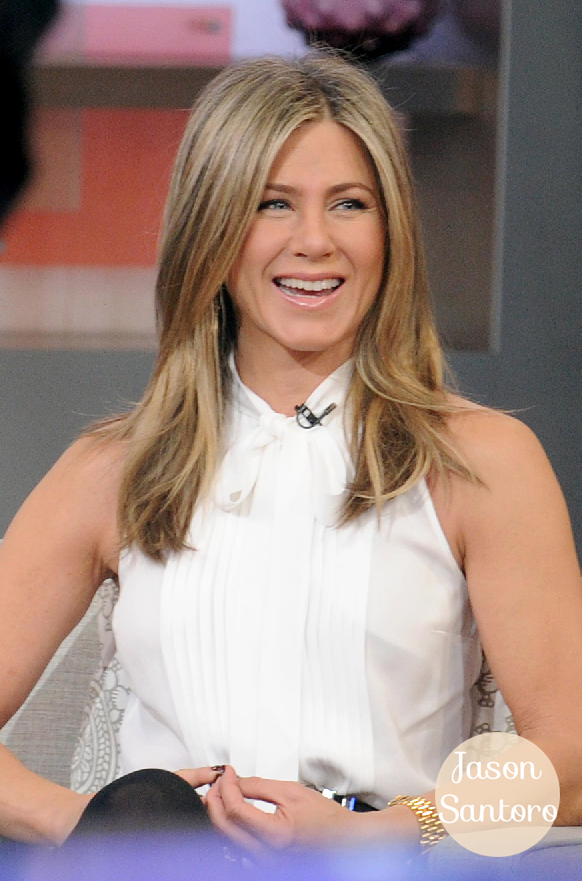 Jennifer Aniston visits Good Morning America