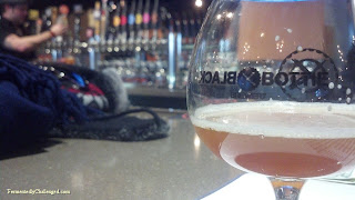 Black Bottle Brewery glass