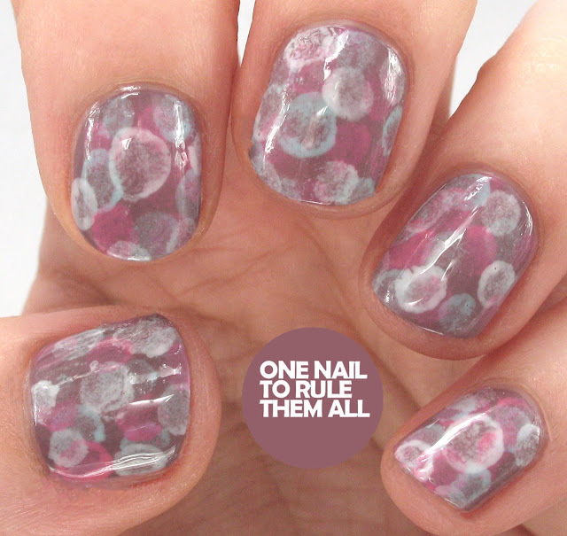One Nail To Rule Them All Barry M Nail Art Pens Review: One Nail To Rule Them All: Barry M Sunset Cotton Bud Stamping