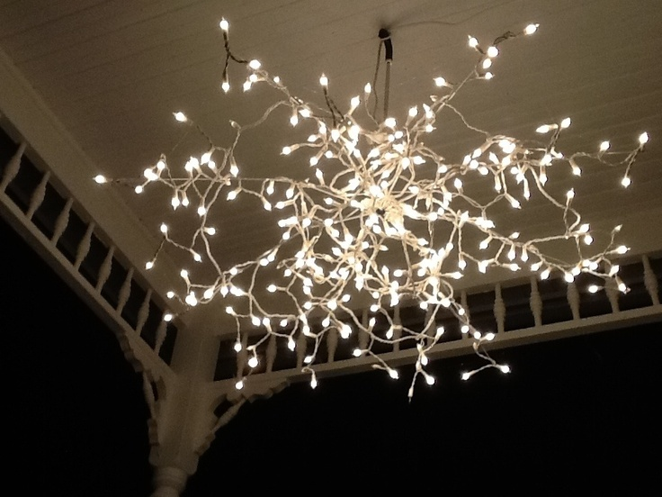 the skirt with dirt: Light fixture DIY ( two choices)
