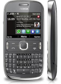 Nokia Asha 302, Nokia, Asha, Qwerty, Mobile Phone, Cell Phone
