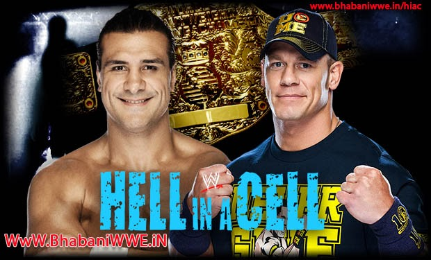 Hell In A Cell 2013 » Matches » Alberto Del Rio vs John Cena (World Heavyweight Championship)