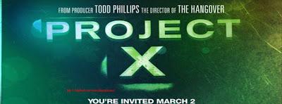 couverture facebook projet x film