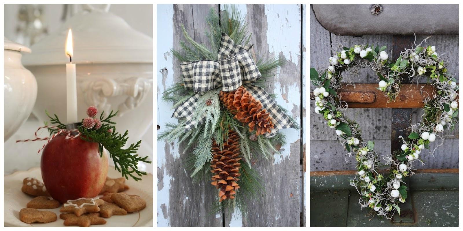 Il giardino di fasti floreali immagini del natale la - Decorazioni natalizie tavola ...