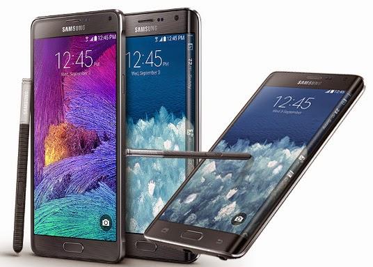 Harga Smartphone Samsung Galaxy Note 4 Edge