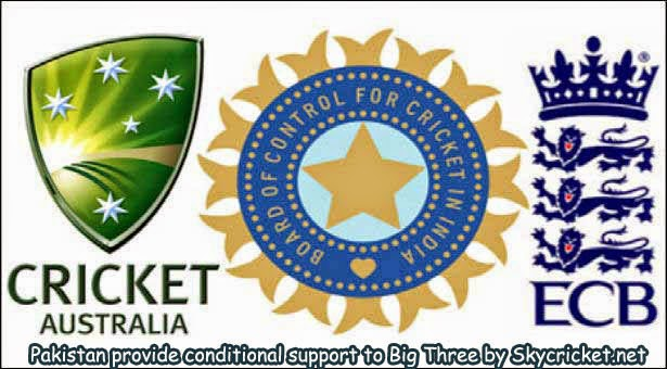 Pakistan provided conditional support to Big 3