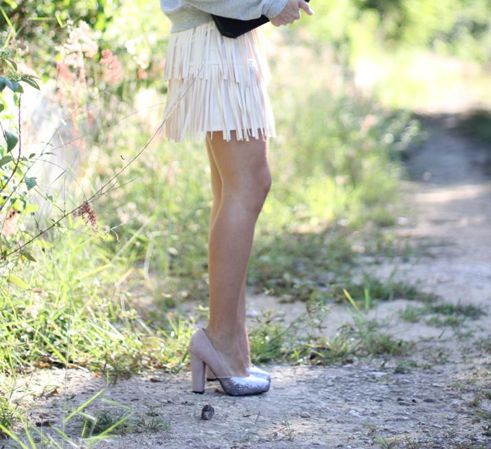 fringes skirt blog