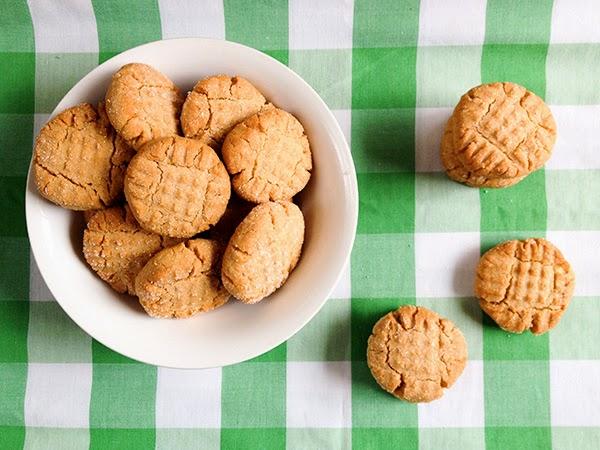receta galletas manteca mani