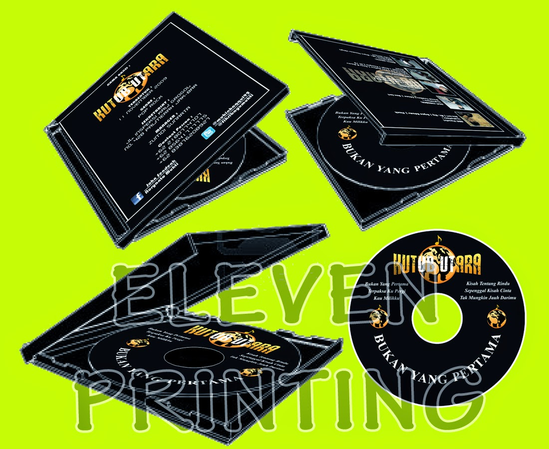 Percetakan Label CD Case