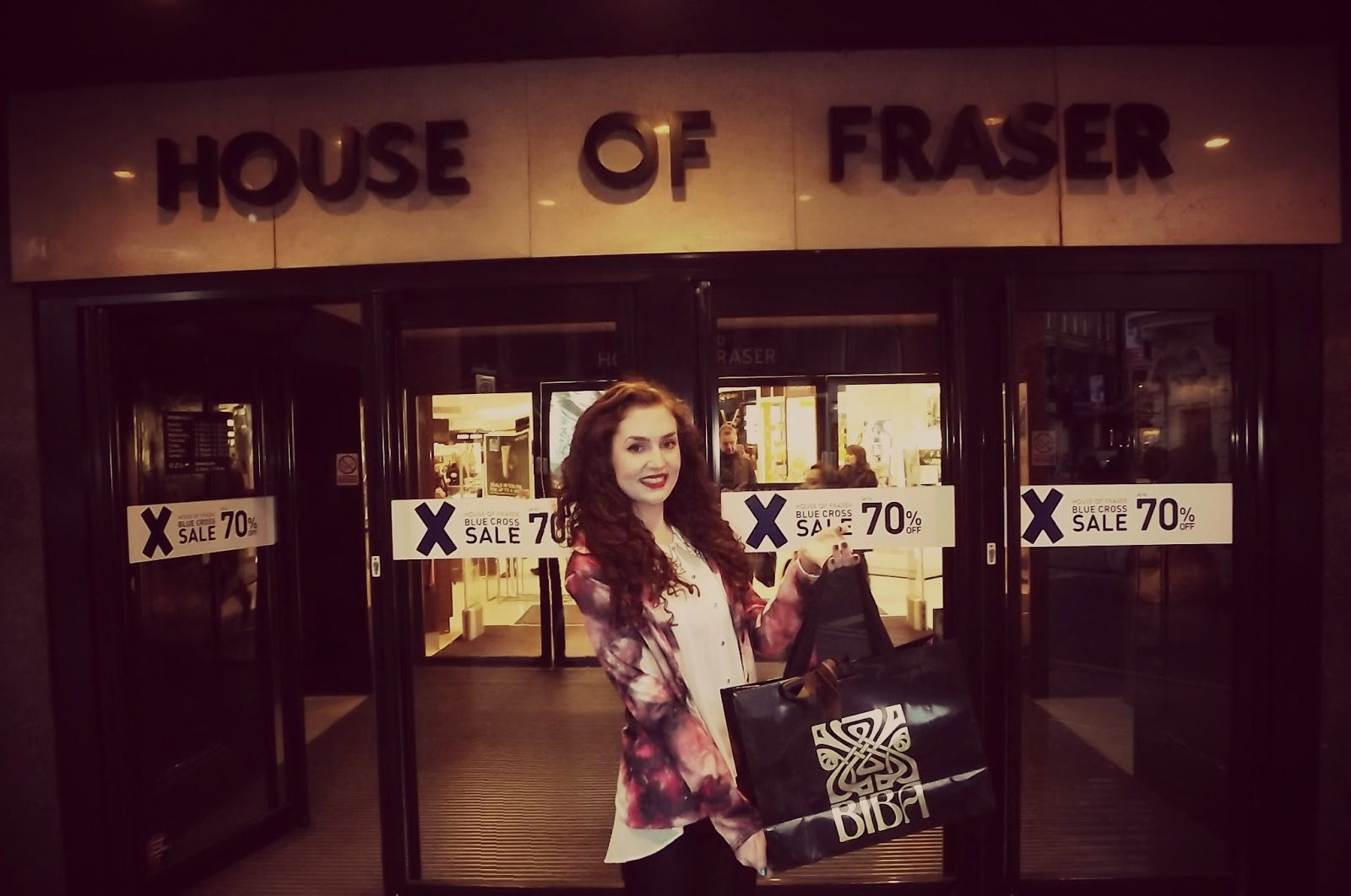 Manchester fashion blogger lily kitten uk personal for Housse of fraser