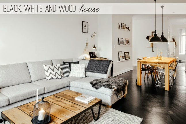 Black, white and wood house - Home Shabby Home | Arredamento ...