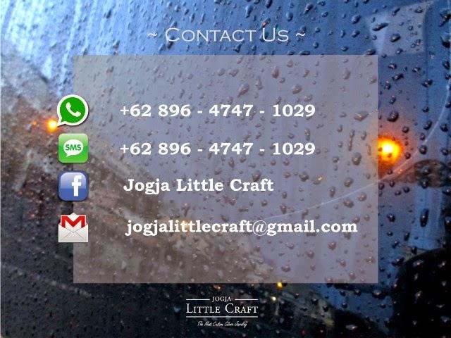 contact us - jogja little craft