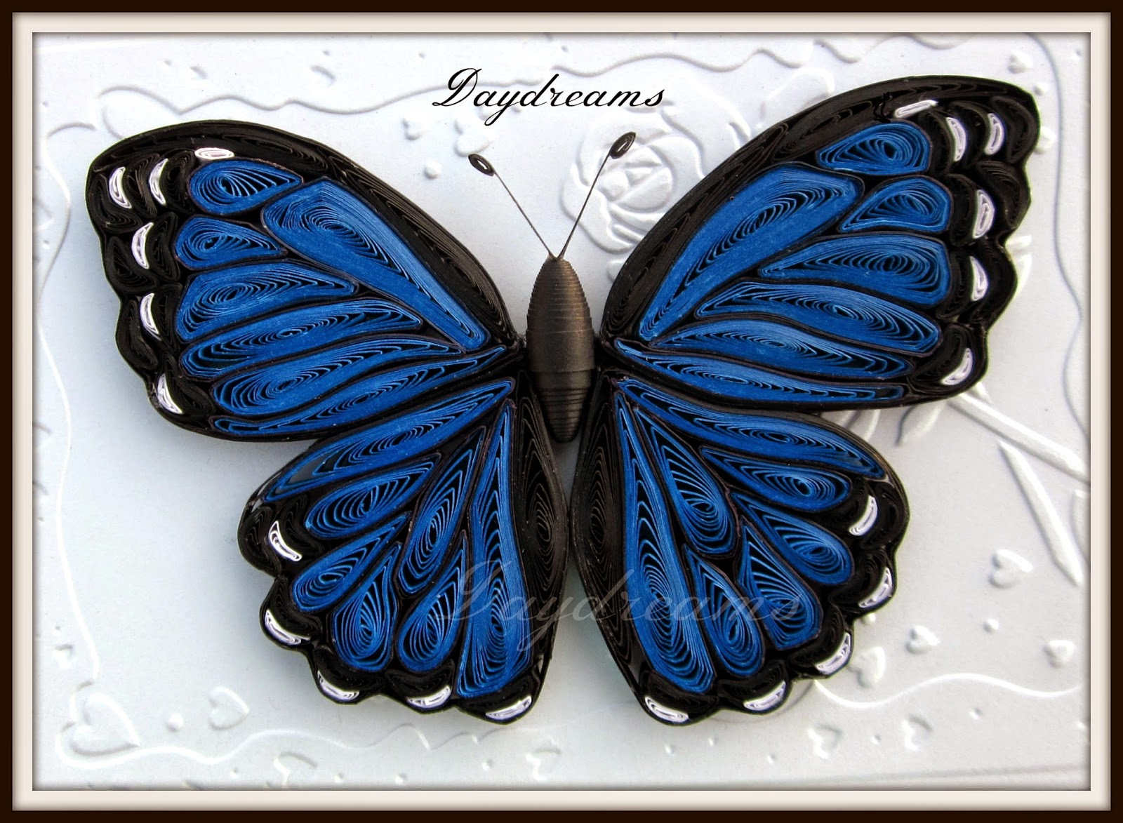 DAYDREAMS: Quilled butterflies. for Quilling Butterfly Tutorial  55nar