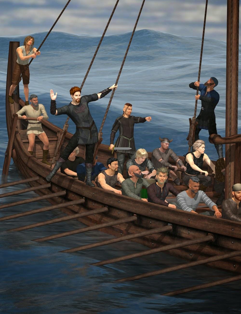 Drakkar Crew action