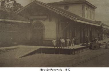 ESTAÇÃO FERROVIARIA 1912