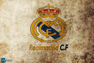 Real Madrid CF Logo Design HD Wallpaper