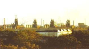 An Array of Blast Furnaces