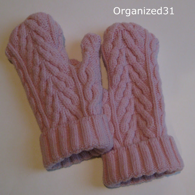 Organized31 - Easy Repurposed Sweater Mittens