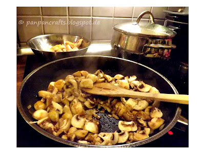 recipe/ Rezept: low carb balsamic chicken pan / Balsamico Hühnchen Pfanne | http://panpancrafts.blogspot.de/