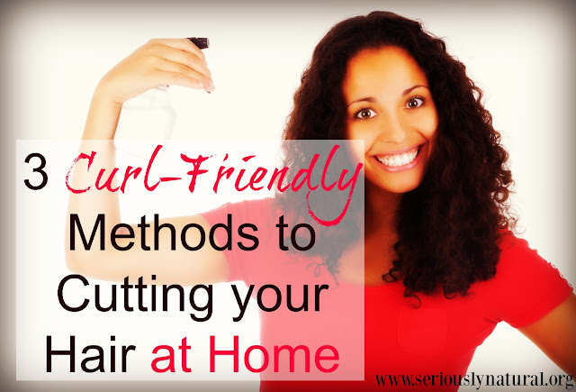 3 Curl-Friendly Methods to Cutting your Hair at Home