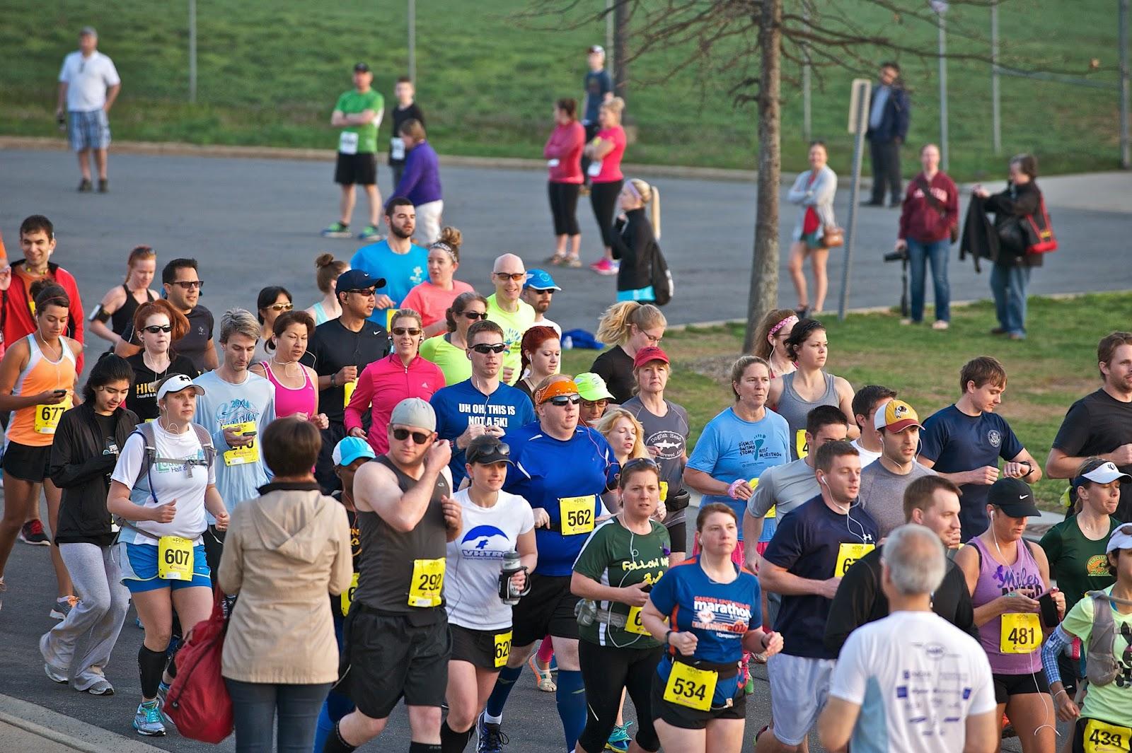 Loudoun Half Marathon start