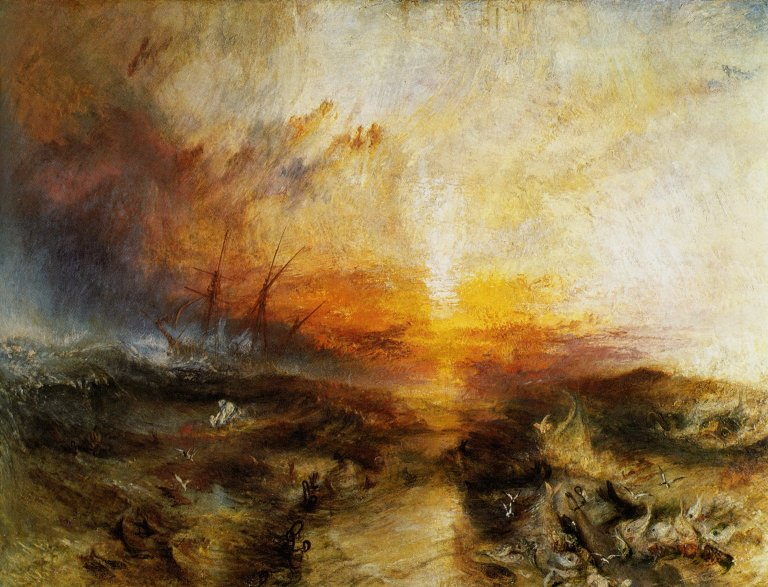 the art of ekphrasis  joseph turner   u0026quot the slave ship u0026quot