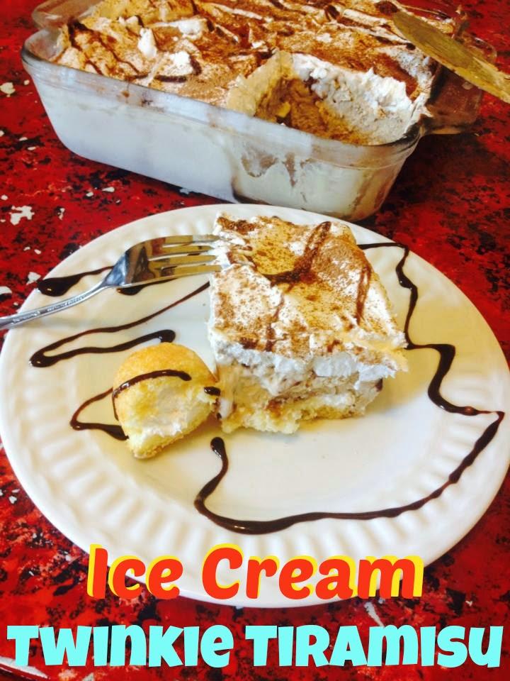 SusieQTpies Cafe: Ice Cream Twinkie Tiramisu Recipe #TwinkieCookbook # ...