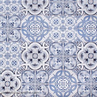 Papel pintado diciembre 2015 for Paredes con azulejo