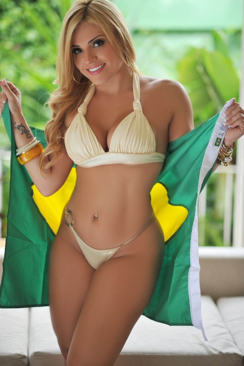Hot Brazilian Girl for wired right's pick for bikini babe of the day. | wired right