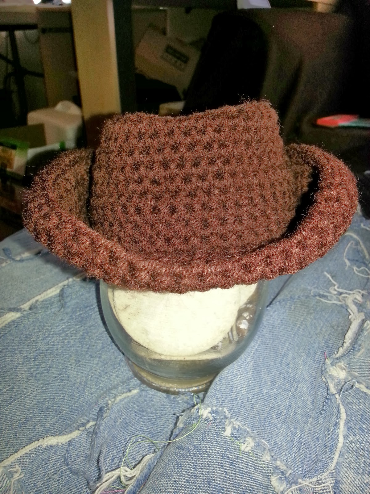 Crochet Pattern Cowboy Hat : Return to the Simple- Live, Laugh, and Love: Crochet ...