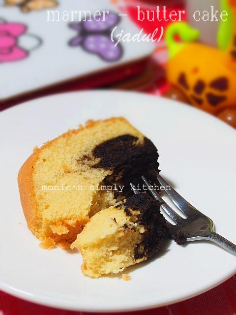 bolu jadul marmer butter cake
