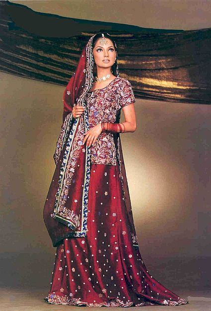 Pakistani Wedding Dress Design