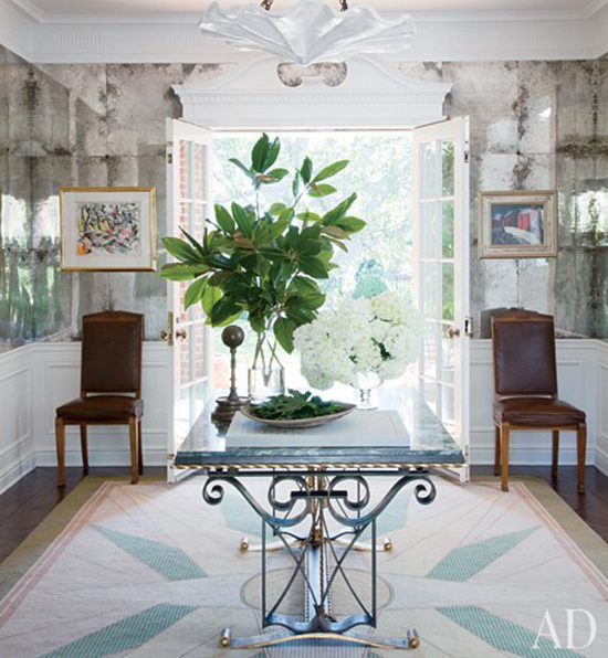 Beverly Foyer Mirror : Long island style favorite foyers