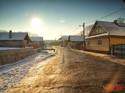 Drumul spre partia de schi, Magherus, Toplita