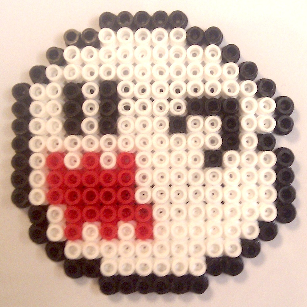 ecocreo  super mario yoshi   boo  ghost    star hama beads